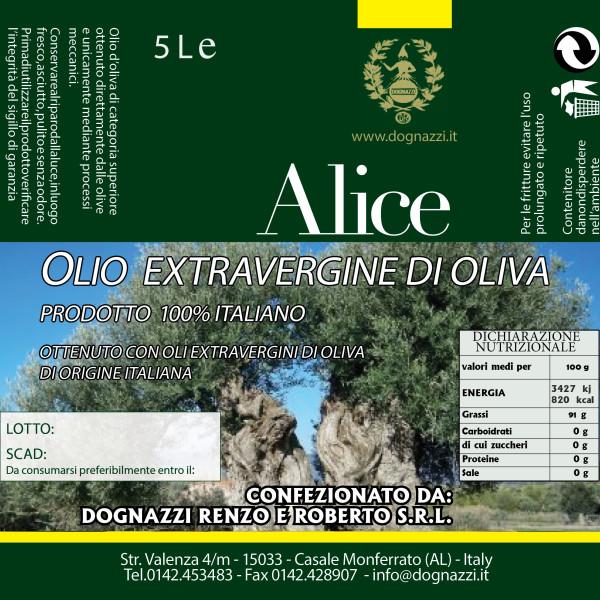 Eti Olio EXTRAVERGINE DI OLIVA ITALIANO 5L
